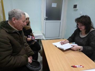 Første møde med kommende medlem og hans pårørende til en stomilørdag