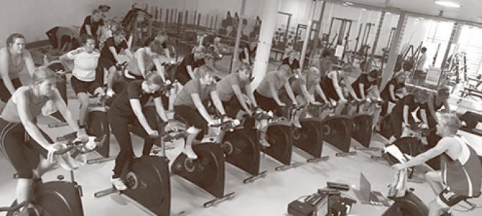 Forsøgspersonerne til træning